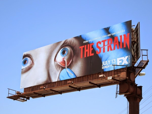 The Strain series premiere FX billboard