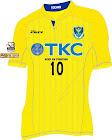 栃木SC 2016年ユニフォーム-ホーム