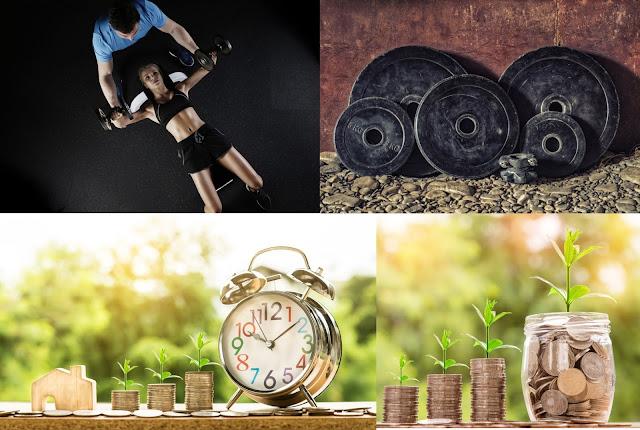 Musculação, Finaças e Investimentos