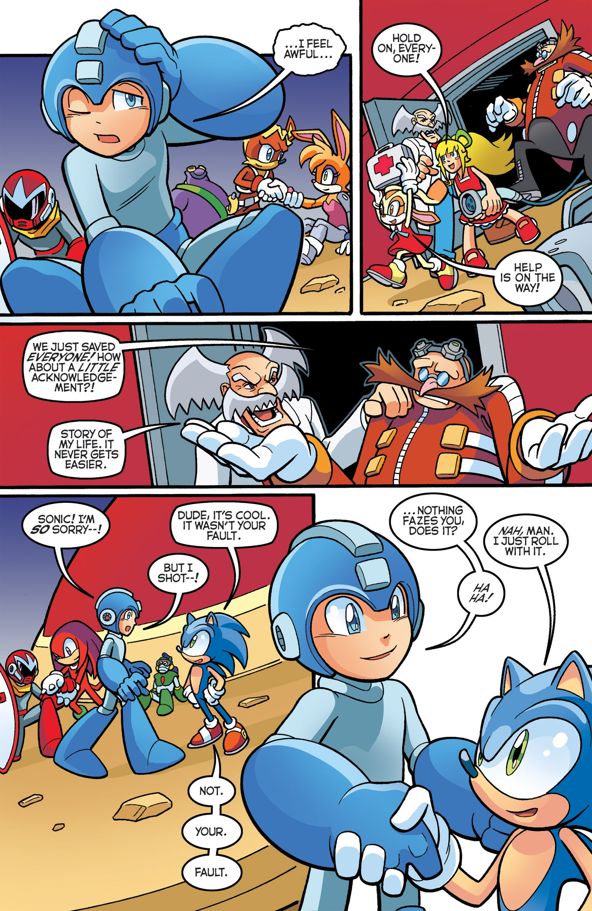 Read online Sonic The Hedgehog comic -  Issue #274 - 17