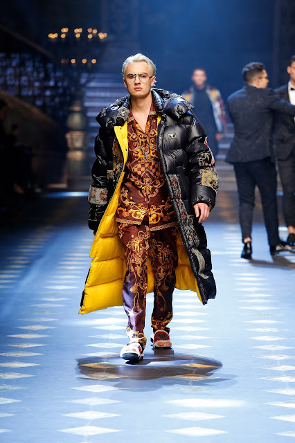 Brandon Thomas Lee Dolce & Gabbana Fall Winter
