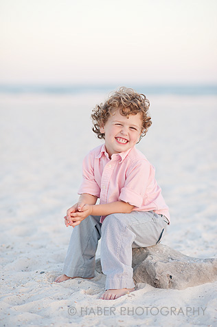 Kids Beach Portrait Session