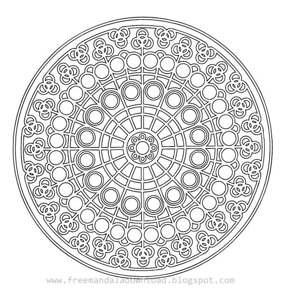 Fantastisch Mandala Färbung Druckbare Seiten Zeitgenössisch - Ideen ...