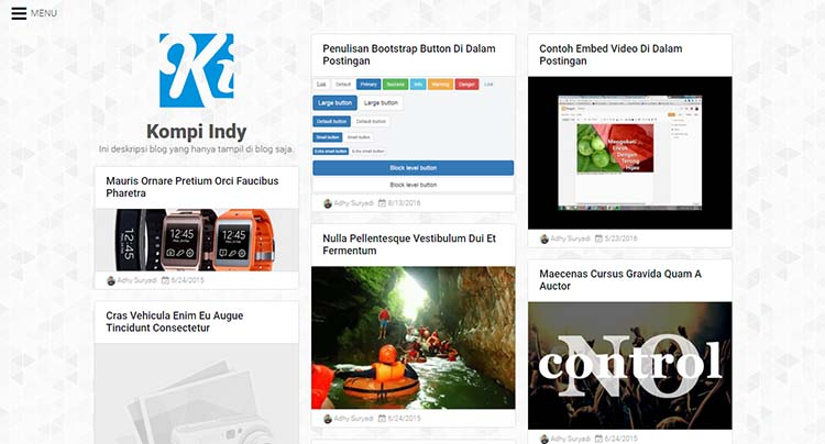 Free Blogger Template - Kompi Indy