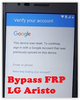 How to Bypass FRP or Google verification bypass LG ARISTO (LG MS210