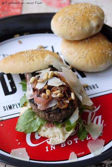 Experimente aus meiner Küche: Toscana Burger {Burger Time}