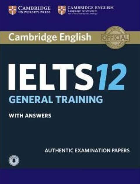 Download Cambridge IELTS 12 With PDF and Audio with Answers