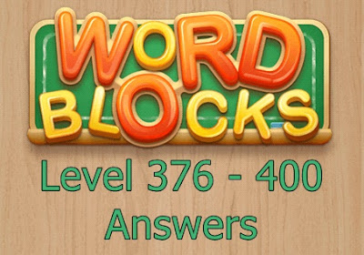Word Blocks Level 379 Answers