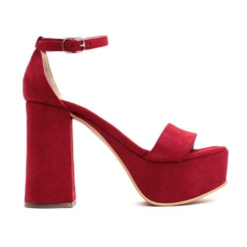 Zapatos Mujer Taco Fiesta1 Plataformas Sandalias Dama Palo 349 1FKTlJc3