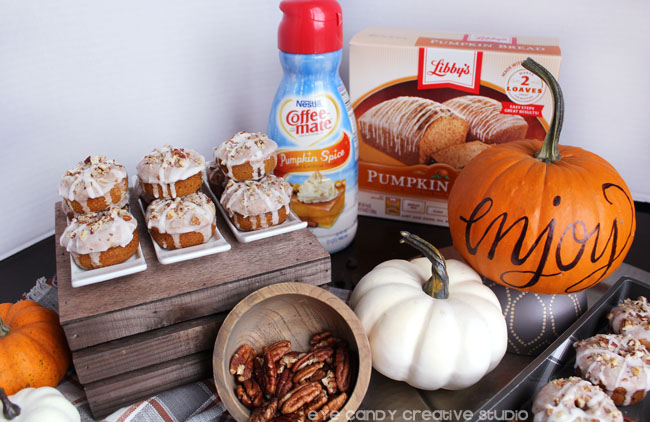 nestle, libby's, nestle toll house, coffee creamer, pumpkin bread kit