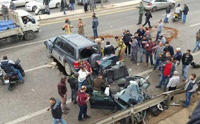 حادث تصادم ميت غمر