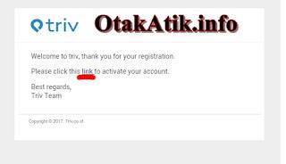 verifikasi link triv