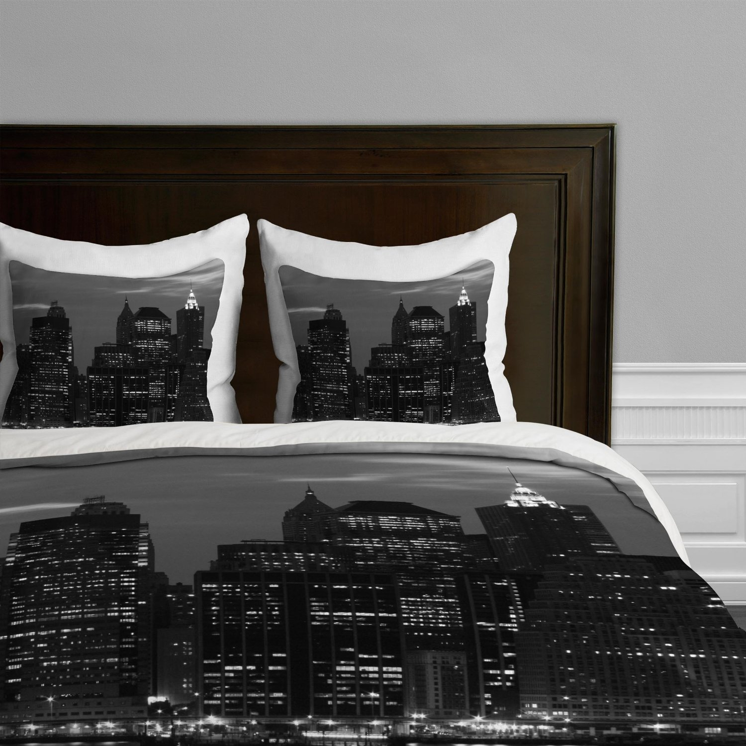 New york city skyline bedding nyc themed bedroom ideas for New york city decor