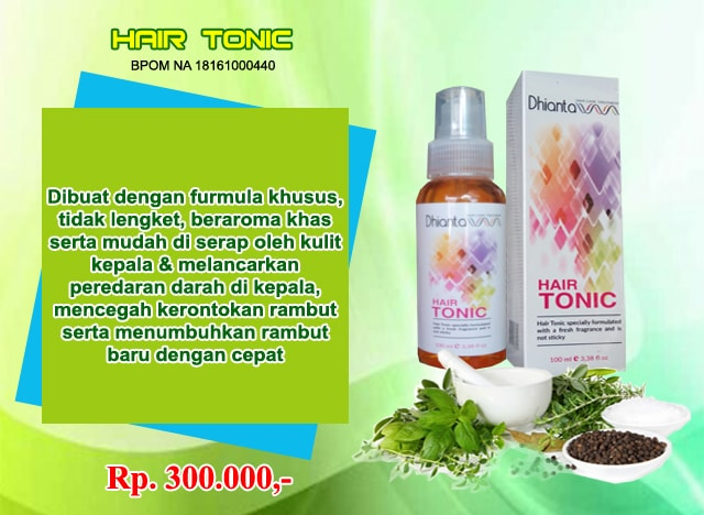 tonic penumbuh rambut