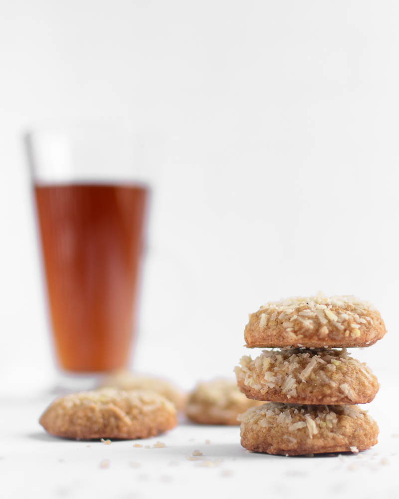 Easy Coconut Oatmeal Cookies