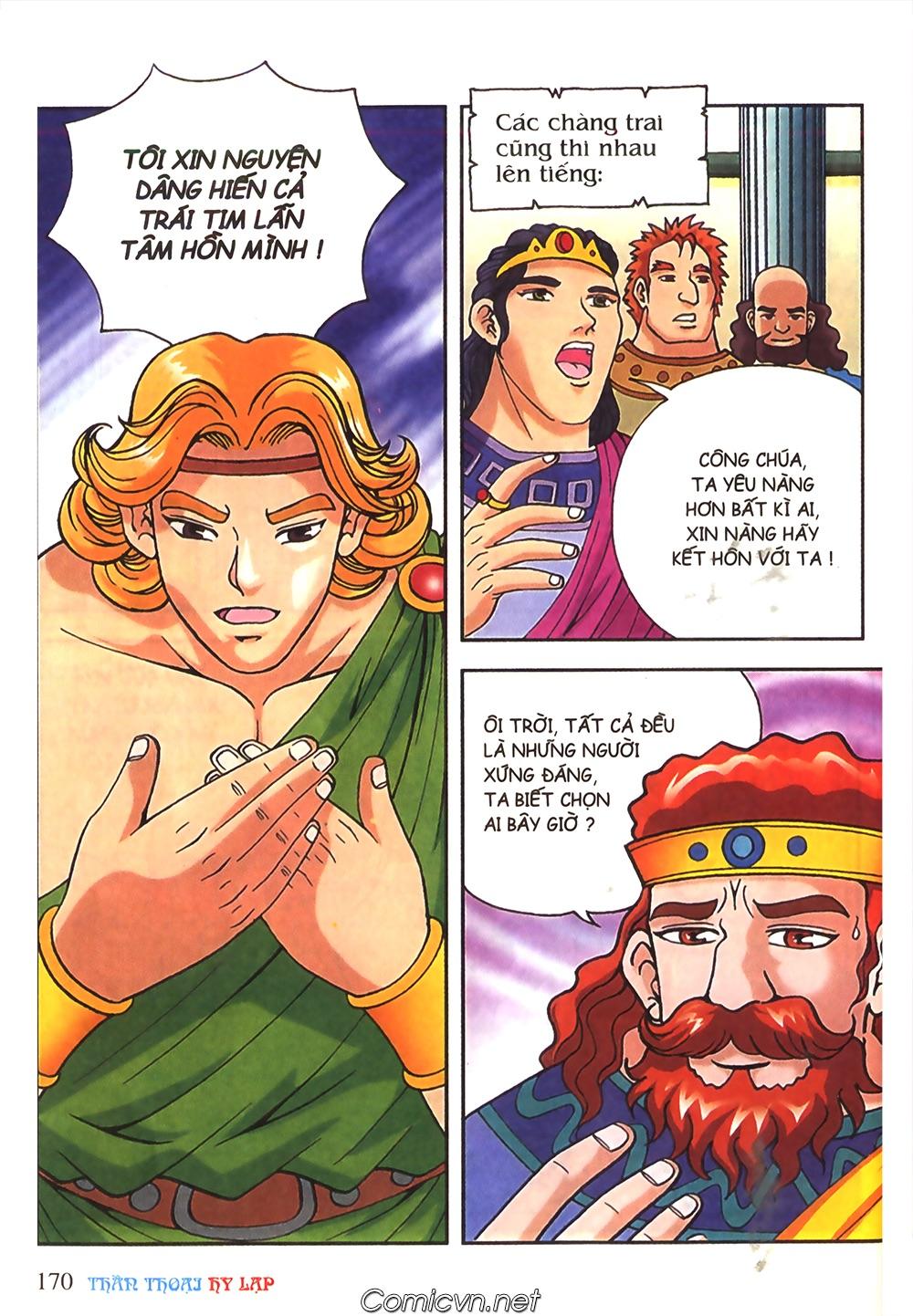 Thần Thoại Hy Lạp Màu - Chapter 51: Nàng công chúa Helen - Pic 9
