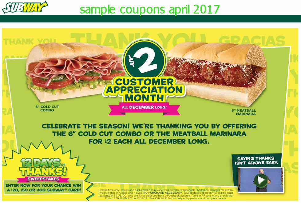 printable coupons 2018 subway coupons. Black Bedroom Furniture Sets. Home Design Ideas