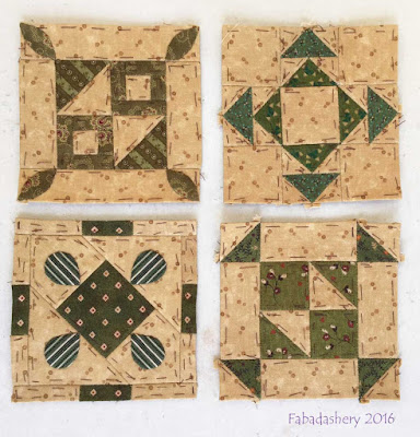 Dear Jane Quilt - Draw 54 - A5, H10, J8, J13