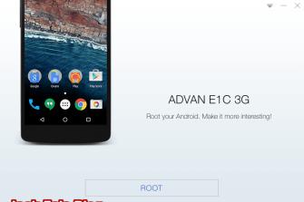 Cara Mudah Root Advan E1C 3G