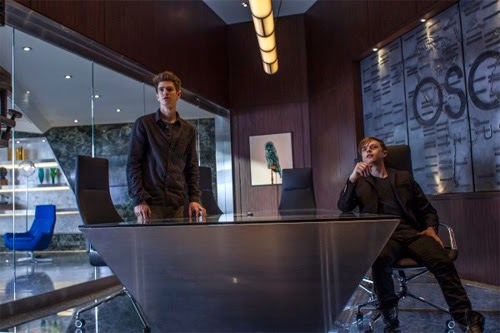 Dehaan en Nuevas fotos de The Amazing Spider-Man 2