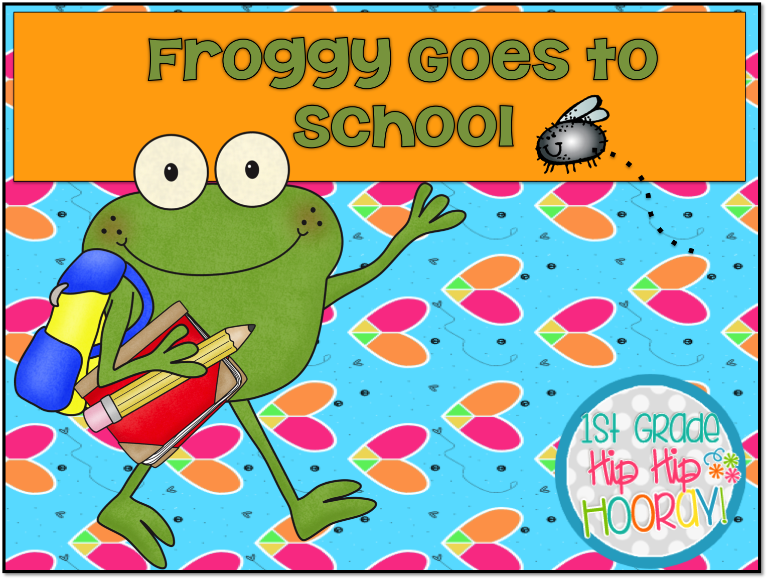 Froggy Goes To School Crafts
