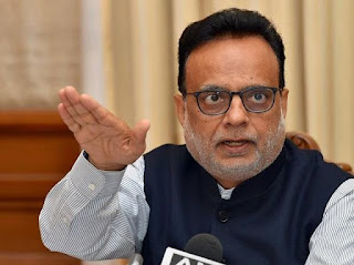 Hasmukh Adhia Appointed as the Chancellor of Gujarat Central University