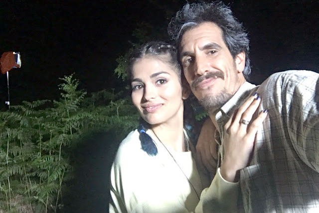 Sara Sálamo y Rodrigo Poisón