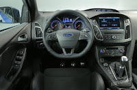 2016 New Ford Focus RS Generation Review interior dashboard