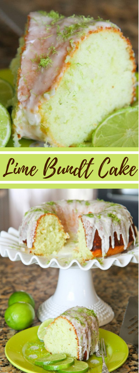 EASY LIME CAKE #dessert #lemon