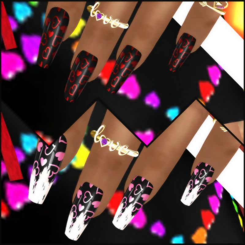 #550 - Valentine Nail Designs - Love Bites Hunt