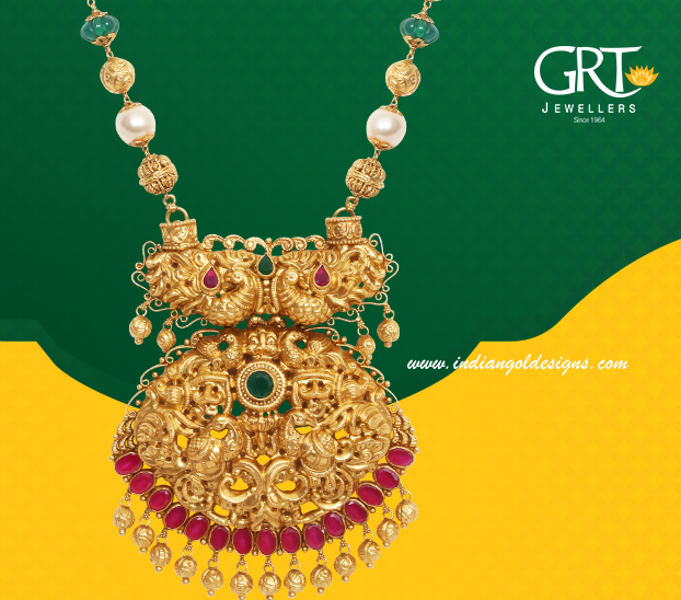 Gold And Diamond Jewellery Designs Grt Necklace