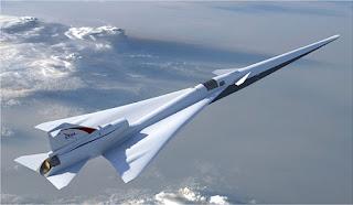NASA apresenta projeto final de avião supersônico