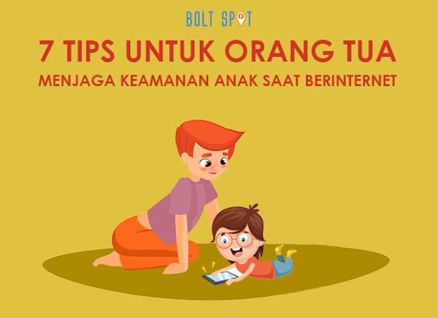 7 Tips Untuk Orang Tua Menjaga Keamanan Anak Anda Saat Berselancar Online