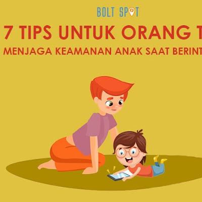 7 Tips Buat Orang Tua Untuk Menjaga Keamanan Anak Anda Saat Berinternet