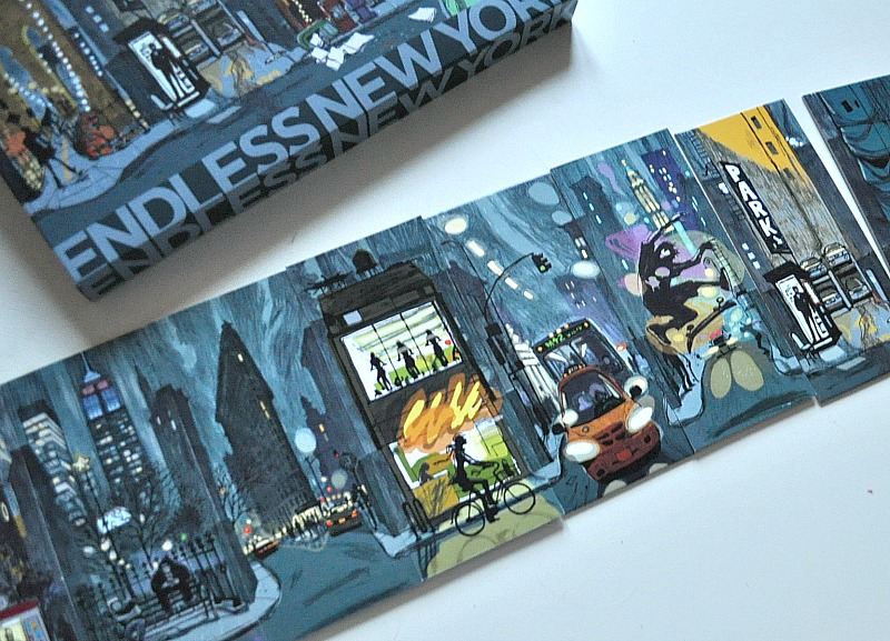 create a new york street scene with Endless city game