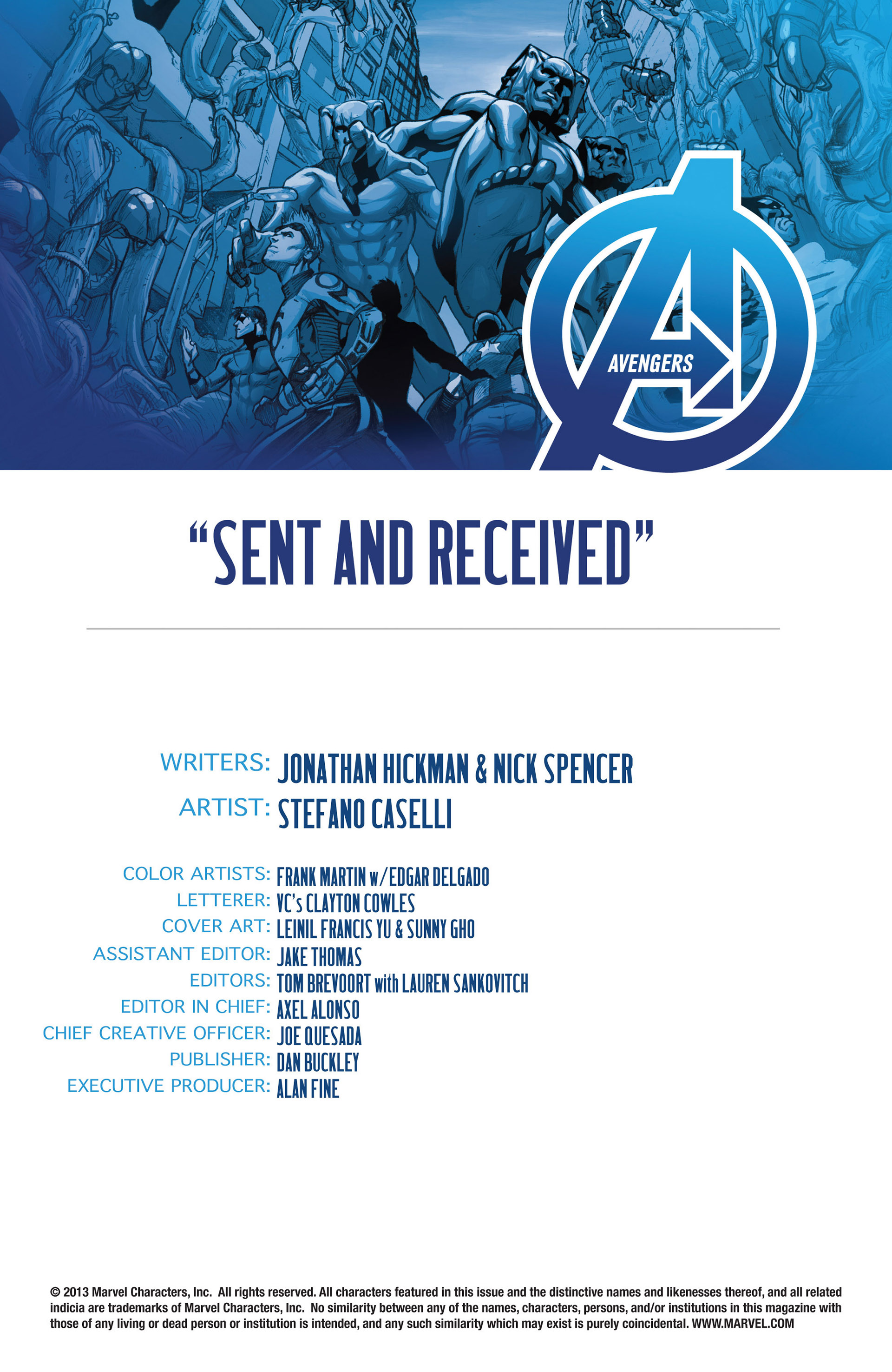 Read online Avengers (2013) comic -  Issue #15 - 4