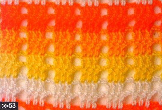 Patrón #1745: Punto Calado a Crochet