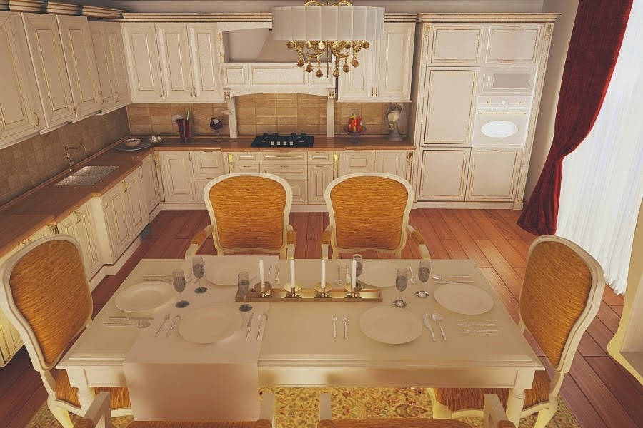 Design - interior - bucatarie - clasica | Design - interior - casa - de - lux | Proiect - design interior - case - vile - moderne - la cheie | Design interior - pret - casa - stil - clasic - Constanta - Brasov - Bucuresti - Pitesti - Ploiesti - Cluj - Timisoara - Galati