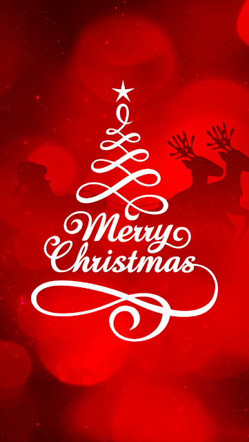 Merry Christmas 2016 iphone 5 wallpaper free download