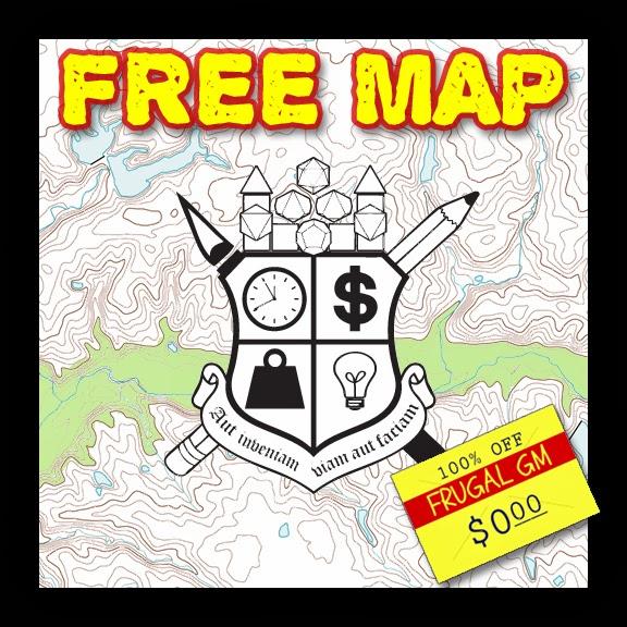 Free Maps 12, 13, & 14