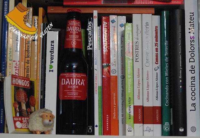 LIBROS DE COCINA Y CERVEZA