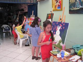 Resultado de imagen de clases pintura niños