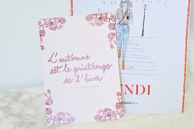 my little box lundi septembre 2018 test avis revue