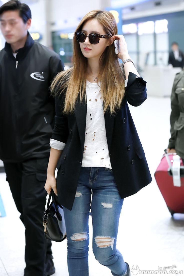 Airport Fashion Para Member SNSD Terbaru