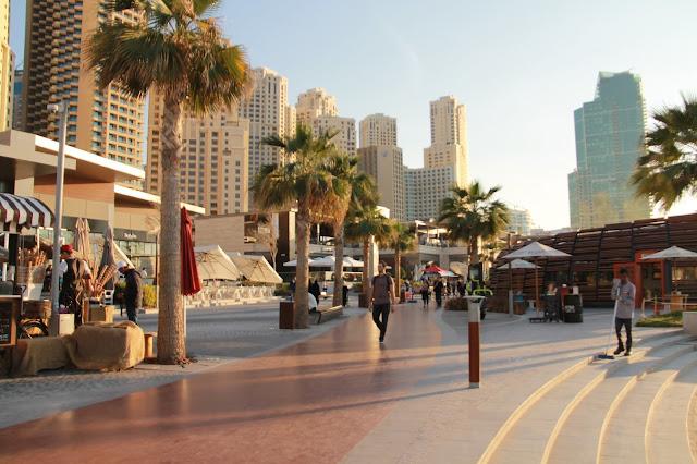 Millainen ranta on JBR Marina beach