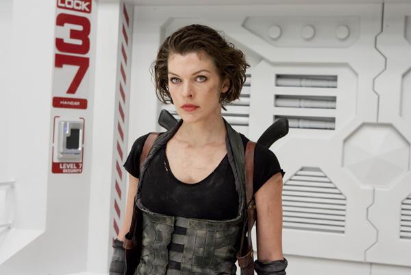Milla Jovovich es Alice en Resident Evil