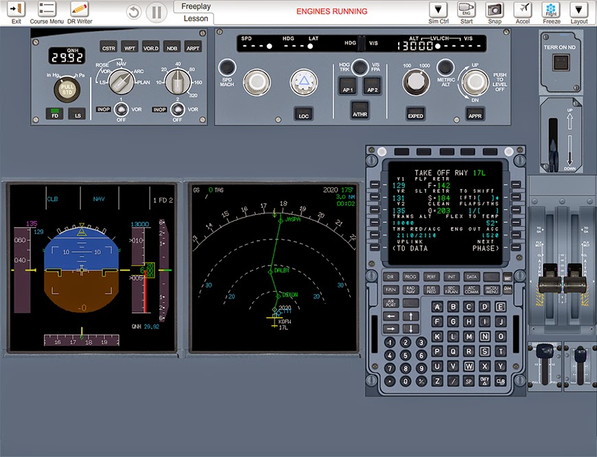 A320 fmgs trainer for Ipad