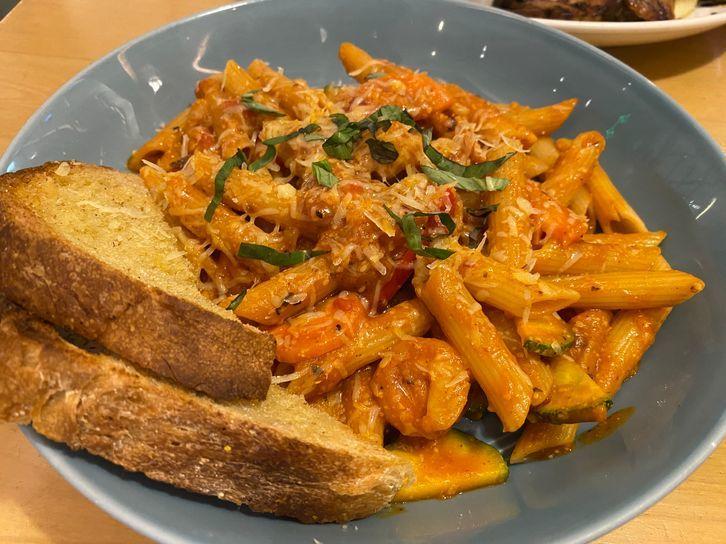 Shrimp El Diablo at Nono's Comfort Kitchen