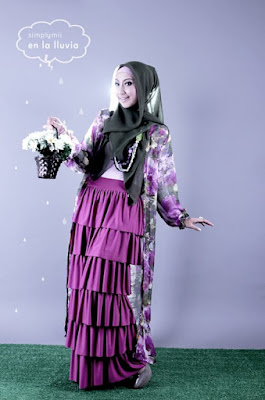model hijab Igo Cantik anak sekolah cantik dan manis suka seklai pakai rok anggun dan sangat sayang