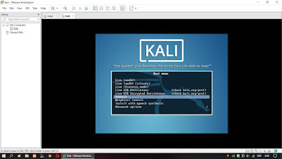 Run Kali Linux On VMware